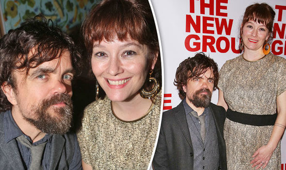 Peter Dinklage (Tyrion Lannister) and his wife Actress Erica Schmidt