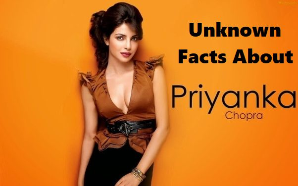 Unknown Facts About Priyanka
