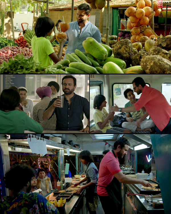 Photo of Catch Chef song Banjara featuring Saif Ali Khan going for a delicious nation wide ride with his food van