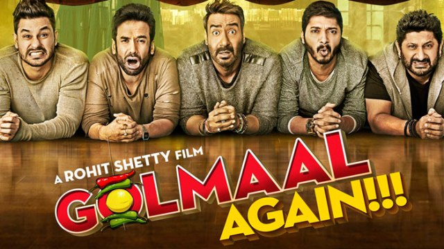 Photo of Box Office : Golmaal Again Continues to Do Big Business
