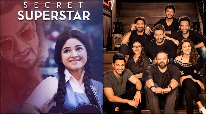 Photo of Reasons to watch 'Golmaal Again' and 'Secret Superstar' this Diwali!
