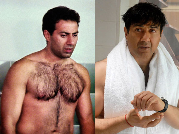 Sunny Deol Goes Shirtless