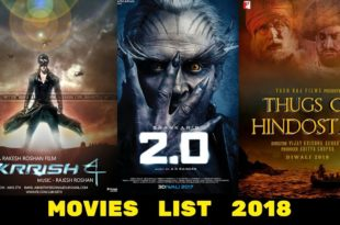 7 Big Bollywood Movies to Release 2018