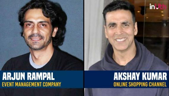 5 Bollywood actors & Their Successful side Businesses