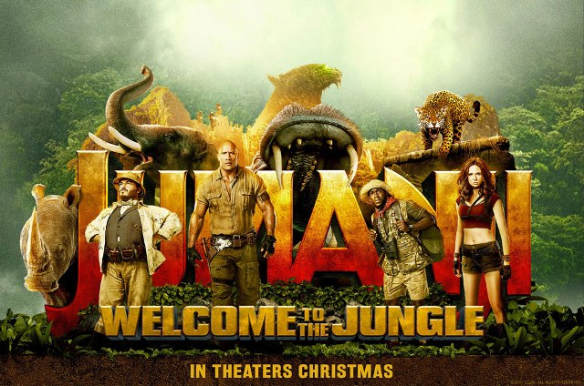 Jumanji Welcome to the Jungle 1st