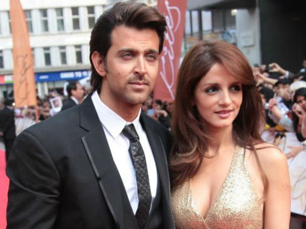 Hrithik Roshan and Suzanne Khan