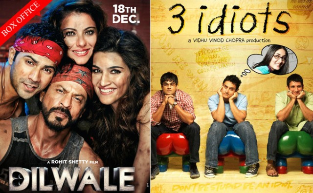 Box Office Dilwale Beats 3 Idiots 0001
