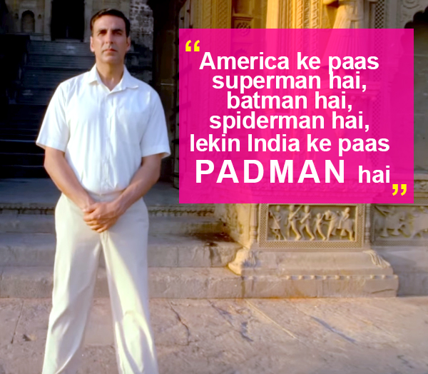 Viral News And Advertorial Writer: Top 5 Best Dialogues From PadMan That Are Going Viral