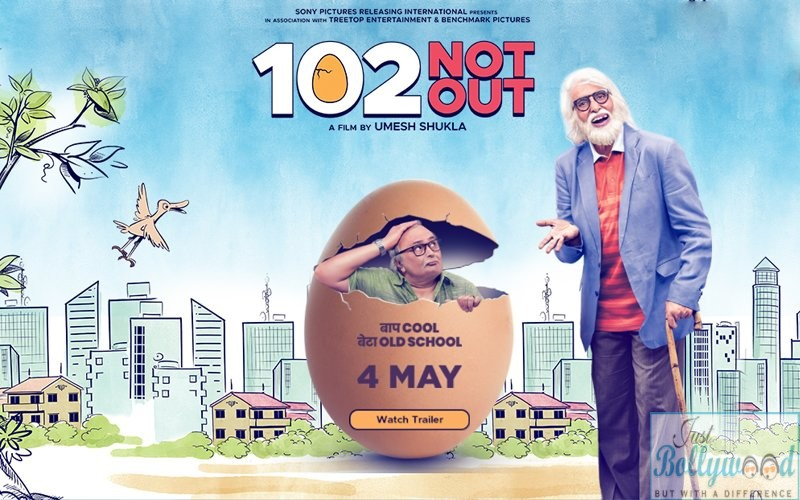 102 Not out Aamitabh And Rishi Kapoor