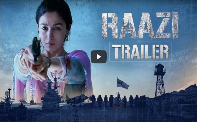 Photo of Catch Raazi trailer featuring Alia Bhatt's gripping performance