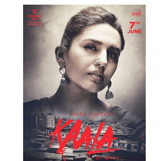 Catch Huma Qureshi's first look in Kaala as Zareena both gripping & interesting