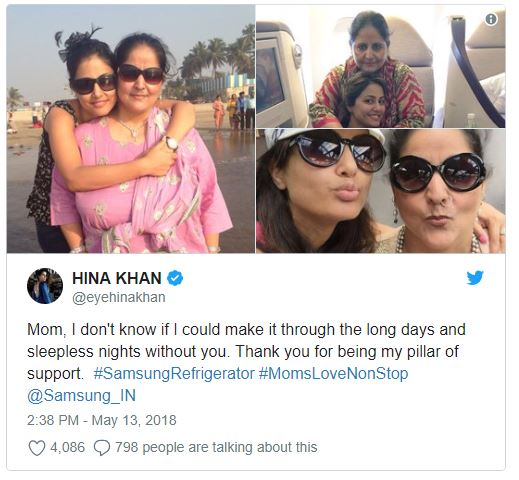 Hina Khan Get Trolled on Mothers Day