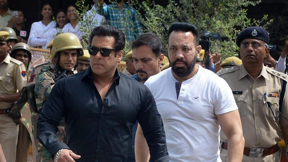 Photo of Salman Khan Appeared Before The Jodhpur Districts Sessions Court