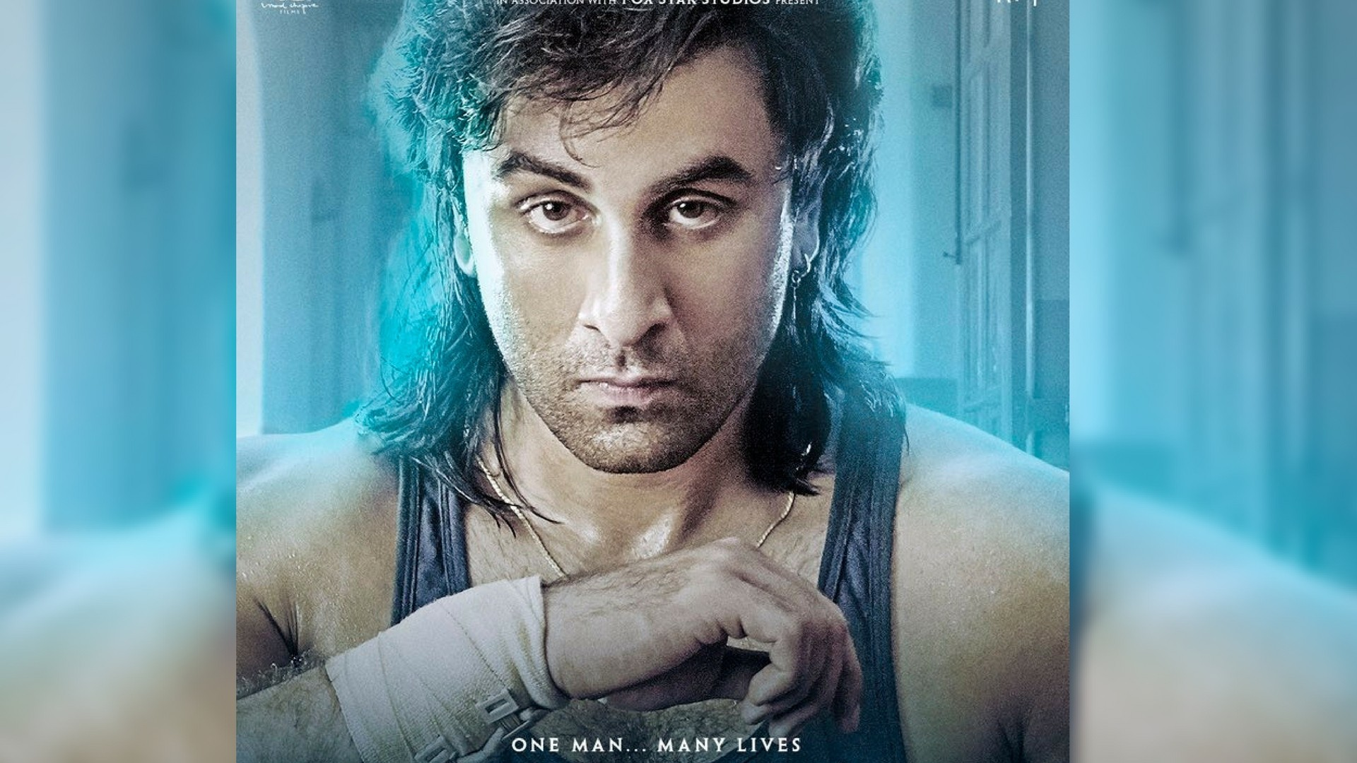 Photo of Classic New Poster Of Sanju Reminds Us 90's Sanjay Dutt