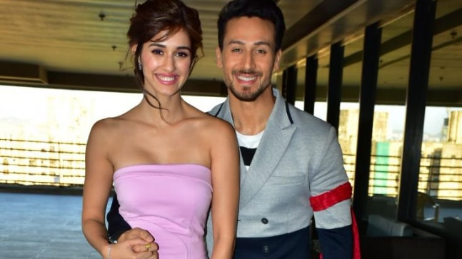 Tiger Shroff and Disha Patani ss