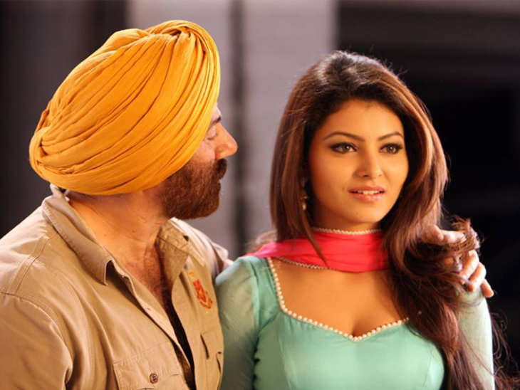 Urvashi Debut With Sunny Deol