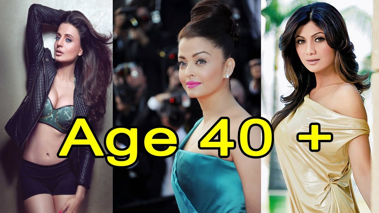 Actresses Age Is More Than 40 Plus