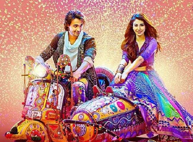 Photo of Catch Loveratri trailer featuring Aayush Sharma and Warina Hussain's crackling chemistry