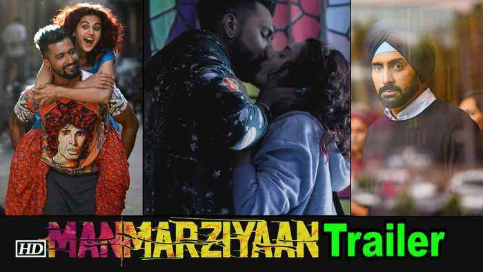Photo of Catch Manmarziya Trailer featuring Abhishek Bachchan, Tapsee Pannu & Vicky Kaushal
