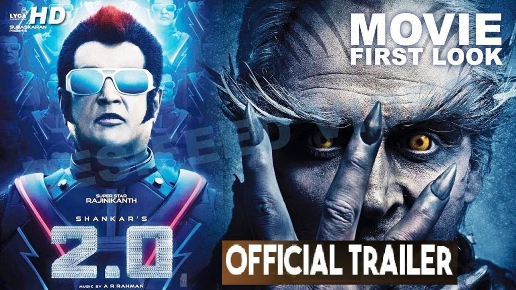 Photo of Catch the 2.0 Trailer featuring Rajinikanth and Akshay Kumar in action and style