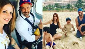 Hrithik Roshan & Sussanne holiday with kids