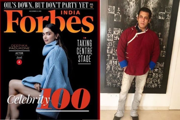 Celebrity in Forbes