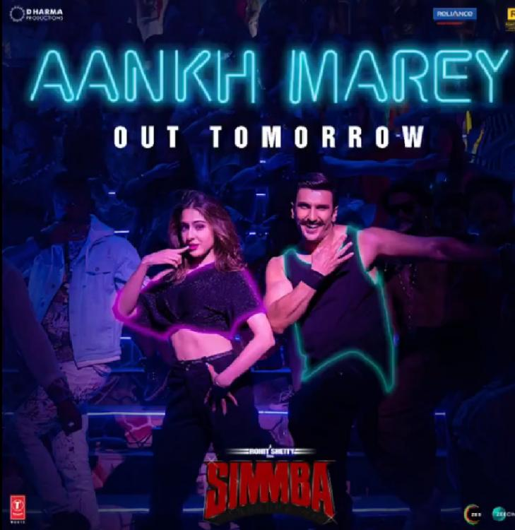 Simmba 1st song