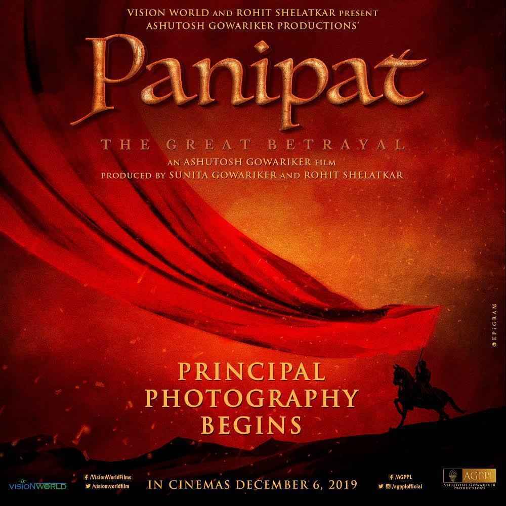 panipat shooting begins