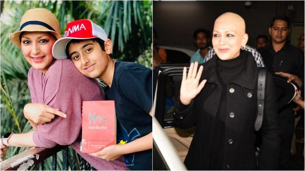 sonali bendrea and her son ranveer book club