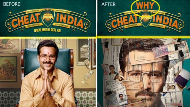 why cheat india new title of cheat india
