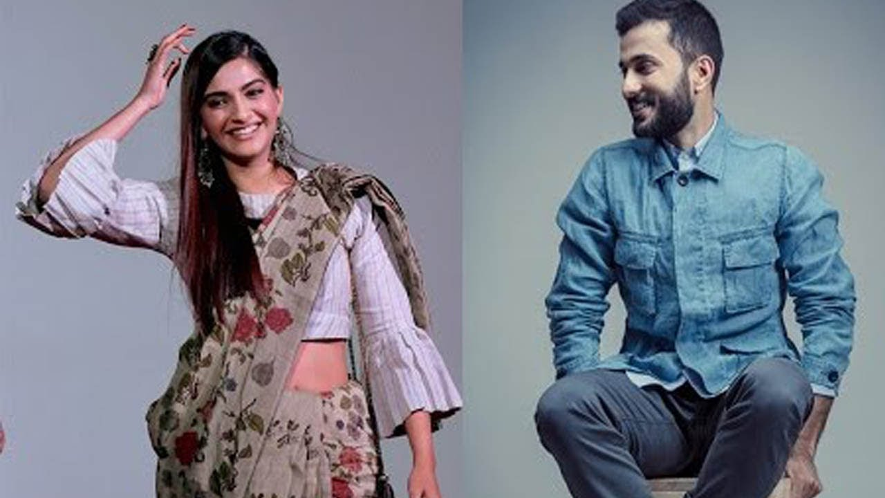 Photo of Anand Ahuja reveals the moment he saw Sonam Kapoor first time in movie Delhi 6