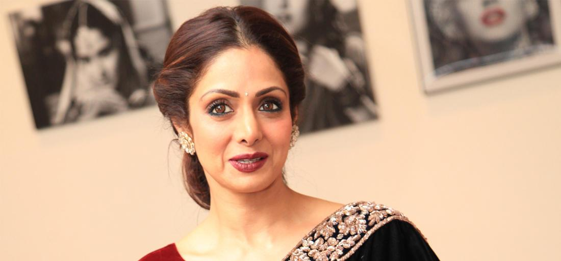 Photo of Sridevi's Saree auctioned ahead of her death anniversary for Social cause