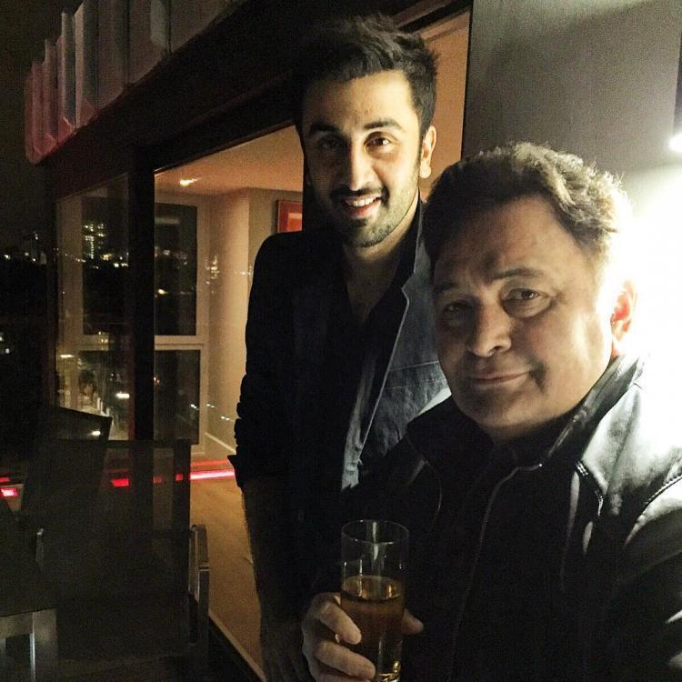 Photo of Rishi Kapoor Happy to know his son Ranbir Kapoor has bagged the Best Actor Award for Sanju