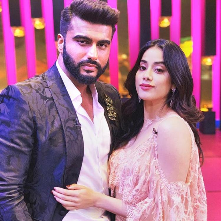Photo of What Janhvi has to say about her brother Arjun Kapoor's India's Most Wanted first look poster?