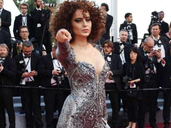 Photo of Kangana Ranaut is set  for 'A High Drama' at Cannes
