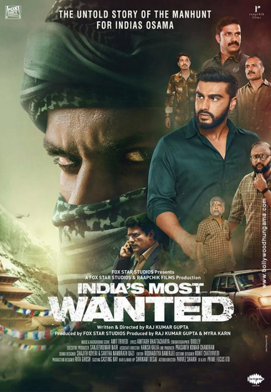 Photo of Arjun Kapoor Shares New Poster for his film – India's Most Wanted