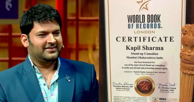 Kapil-Sharma-gets-honoured-by-World-book-of-Records-London