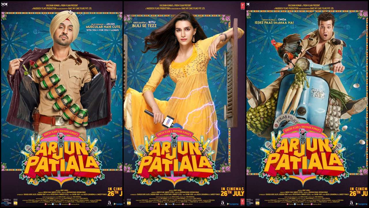 Photo of Kriti Sanon-Diljit Dosanjh starrer Arjun Patiala's first look poster released