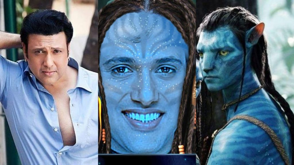 Photo of Govinda calls him the suggestion box for the title of Avatar to James Cameron