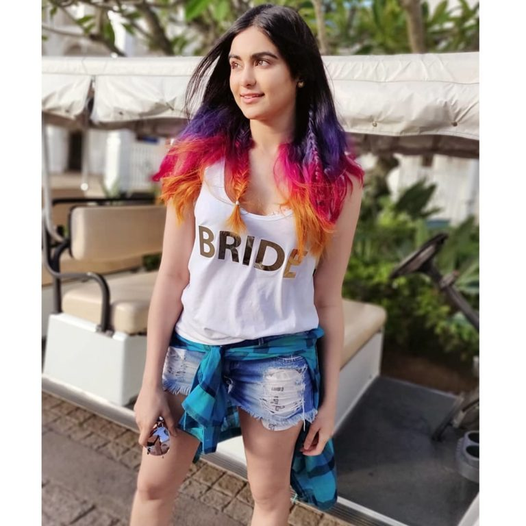 Photo of After web series debut Adah Sharma gears up for Man to Man