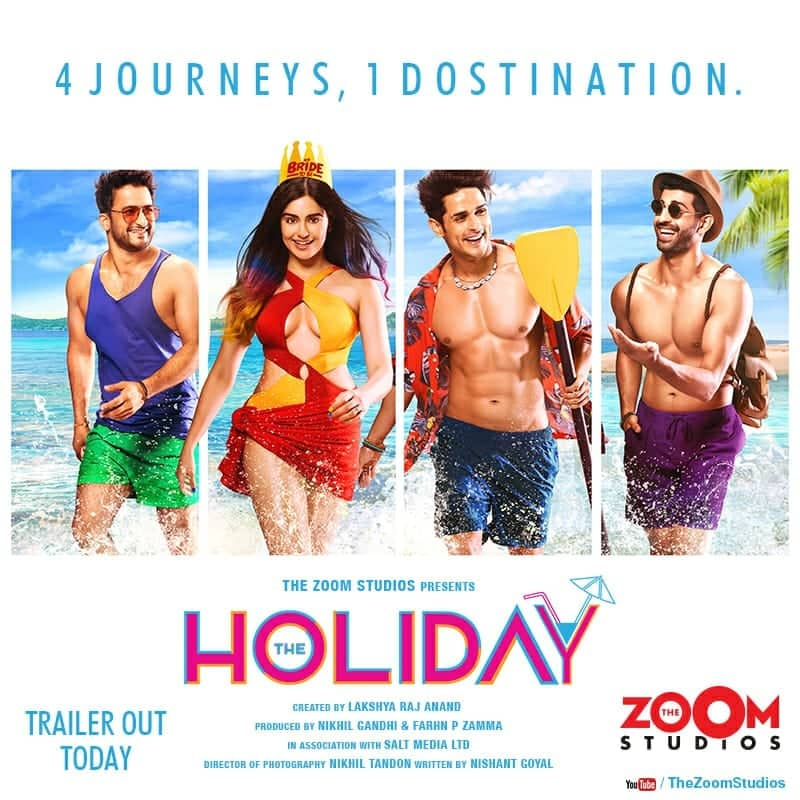Photo of Adah Sharma's Debuts Digital Media with The Holiday, trailer to release today