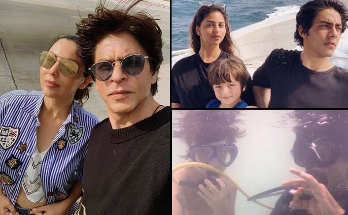 Photo of SRK and Family Having a good time in the Maldives
