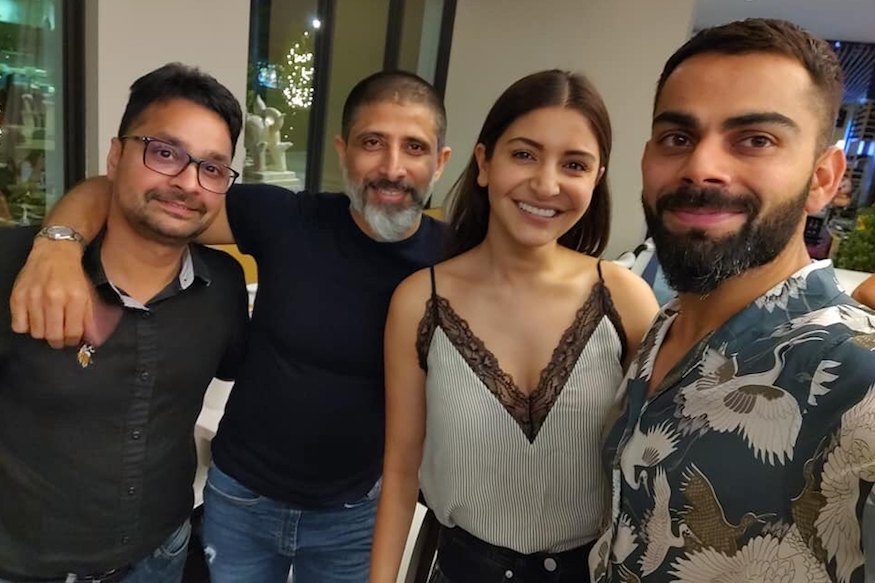 "Photo of Anushka Takes a Break from Venturing Netflix Web Series ""Mai"" to be With Virat"
