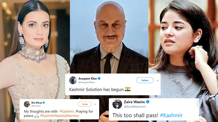 Photo of Article 370 in Kashmir To Be Revoked, check How Bollywood Celebrity React?