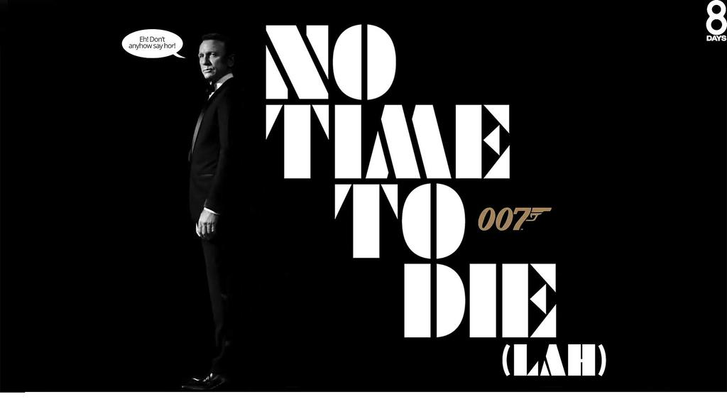 "Photo of James Bond's 25th Entry Gets Its Title: ""No Time to Die"""