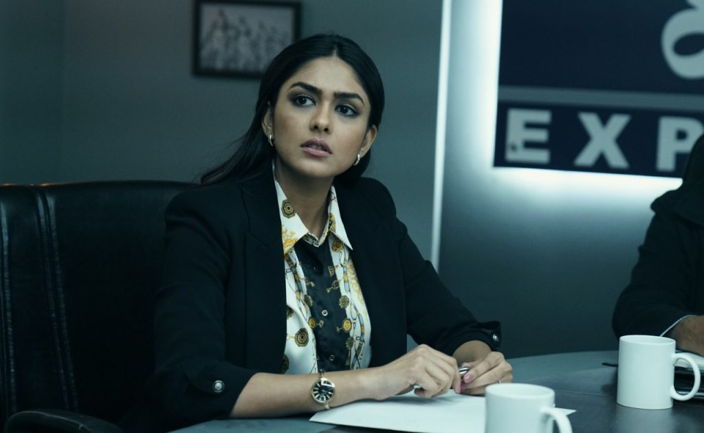 Photo of Mrunal Thakur learned a new skill for Batla House