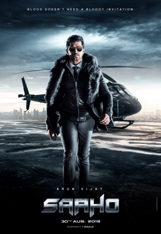 saaho character poster 1