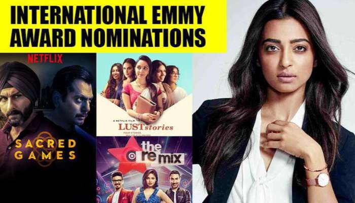 Photo of Radhika Apte Makes It Big to Emmy Awards nomination For Lust Stories