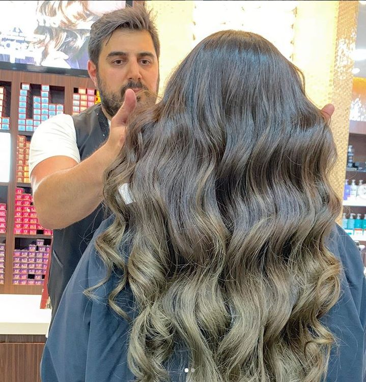 Photo of Creating magical hair color transformations comes naturally to Rafi Kouyoumjian