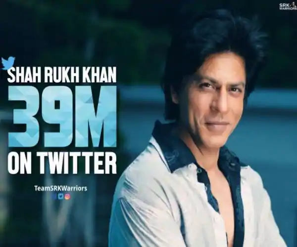 Photo of SRK Becomes the King of Twitter as he gains 39 Million Followers
